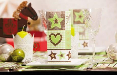 Vianočné prestieranie Lotta - zelené