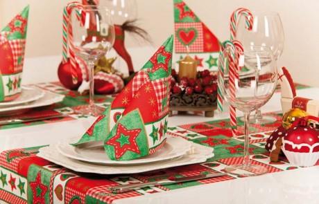 Vianočné prestieranie Lotta - červené