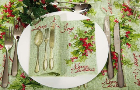 Vianočné prestieranie Love Joy