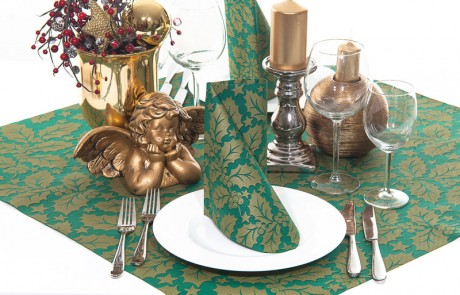 Vianočné prestieranie Michael - zelené