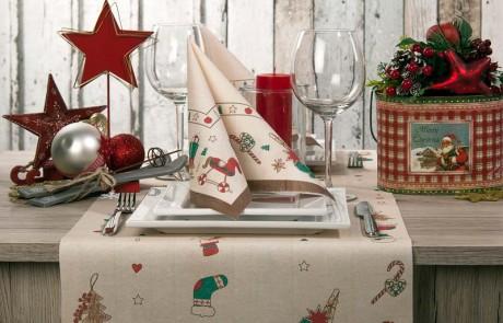 Vianočné servítky Grace