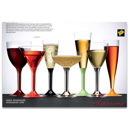 Poháre na víno a sekt