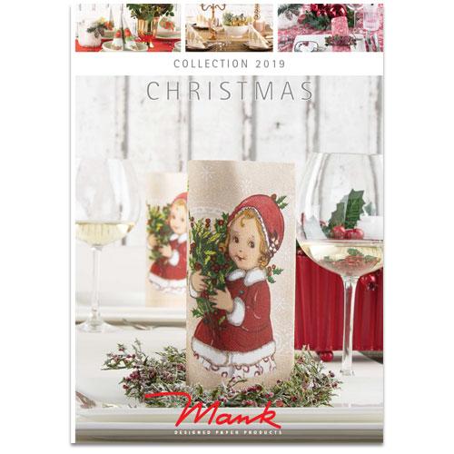 Vianočné prestieranie, katalóg Mank