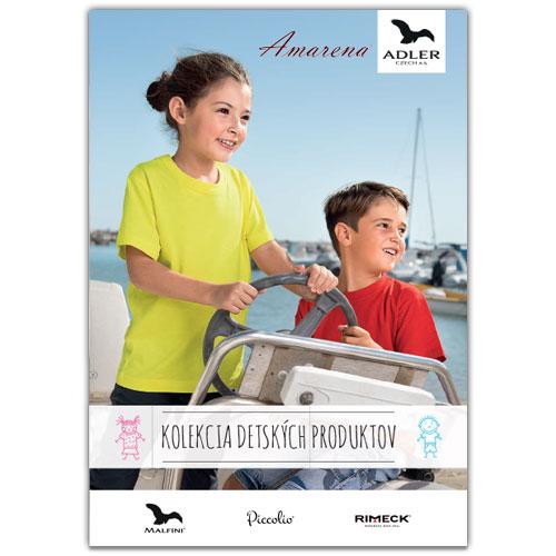 katalóg detských produktov Adler